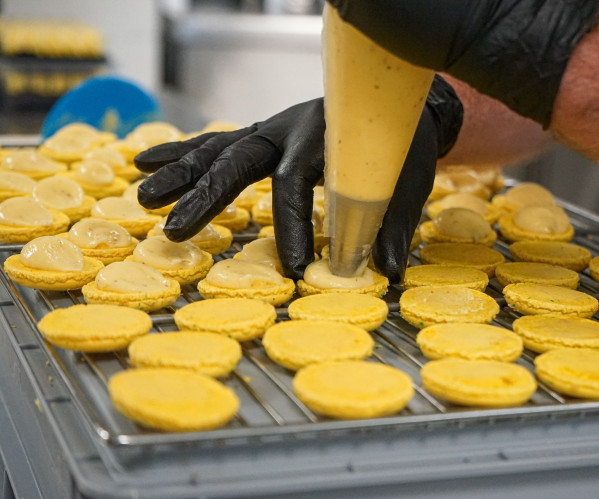 Fabrication macarons