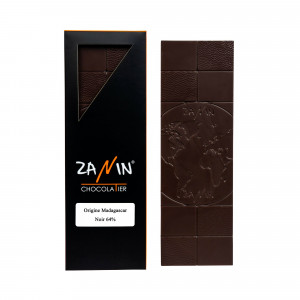 Tablette Chocolat - Origine Madagascar Noir 64%