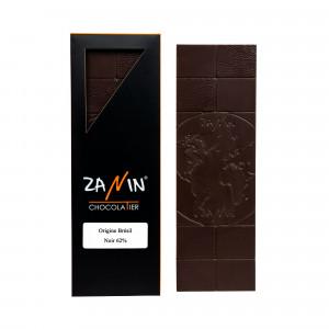Tablette Chocolat - Origine Brésil Noir 62%
