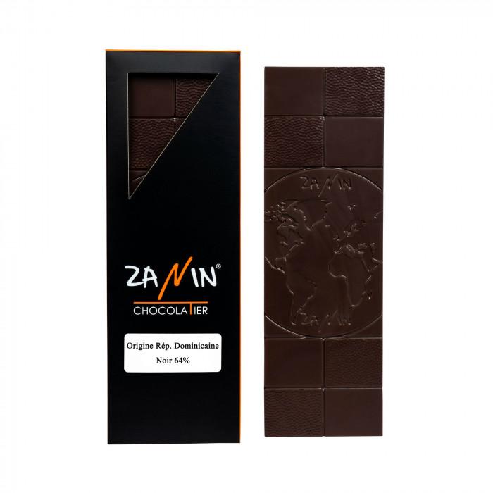 Tablette Chocolat - Origine République Dominicaine 64%
